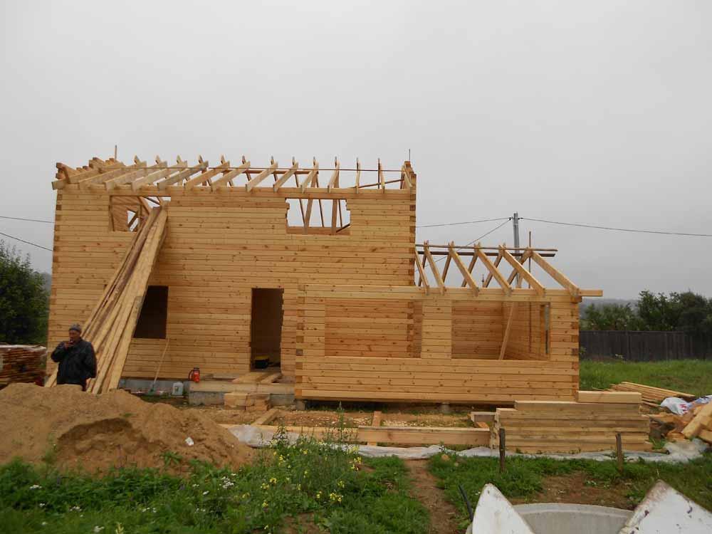 Реконструкция разрушенного дома