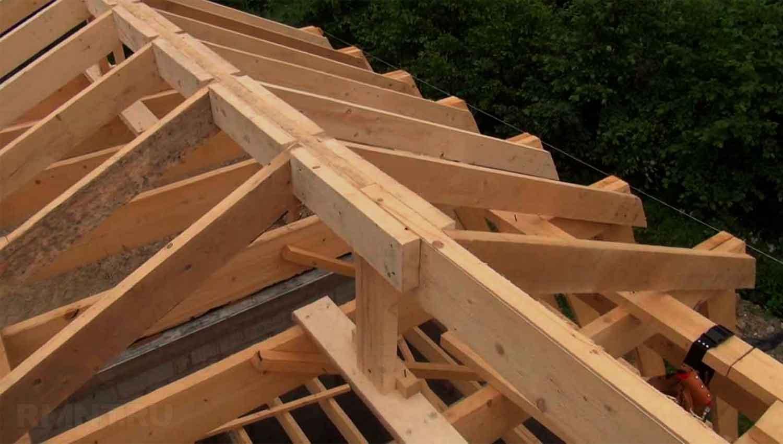 Реконструкция крыши частного дома